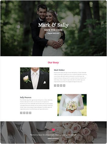 Wedding screenshot